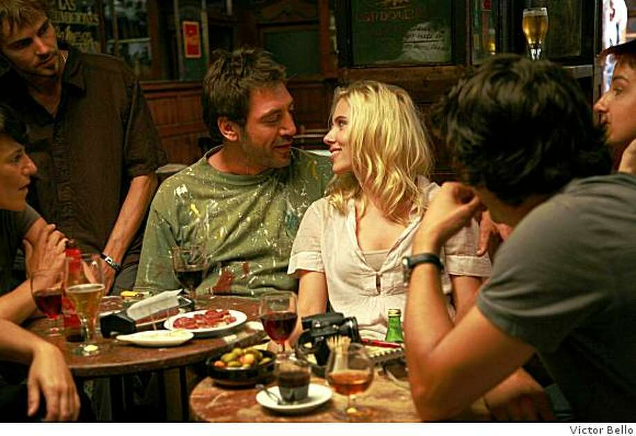 Javier Bardem and Scarlett Johansson star in Woody Allen's Vicky Cristina Barcelona. Photo: Victor Bello