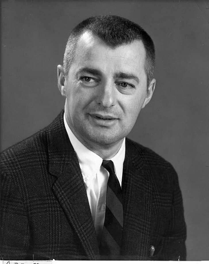 Phil Vukicevich, in 1967 after he had been named USF basketball coach Photo: Courtesy USF