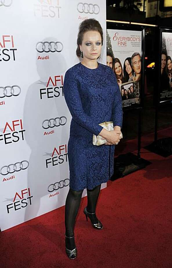 "LOS ANGELES, CA - NOVEMBER 03:  Actress Samantha Morton arrives at the AFI FEST screening of ""The Messenger"" at the Chinese Theater on November 3, 2009 in Los Angeles, California.  (Photo by Kevin Winter/Getty Images for AFI) Photo: Kevin Winter, Getty Images For AFI"