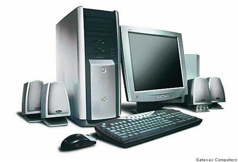 Gateway 700 XL personal computer, handout image Photo: Gateway Computers