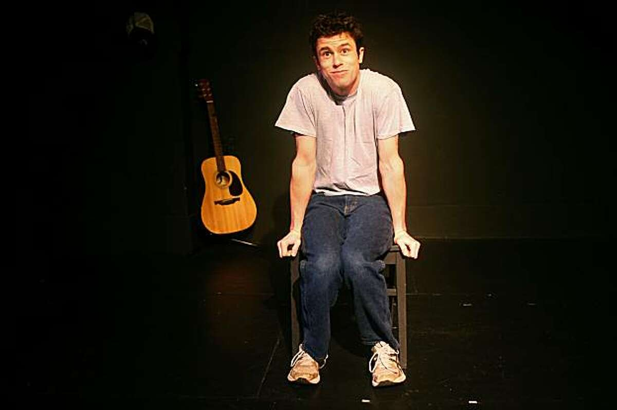 Dan Hoyle in a one-man show called