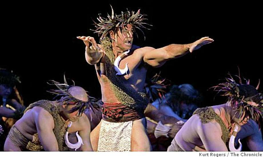 NA LEI HULU I KA WEKIU will perform at the Ethnic Dance Festival at the Palace of fine Arts Theater   on October 11-19, 2008. Photo: Kurt Rogers, The Chronicle