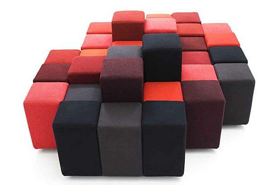 The Do-Lo-Rez sofa Photo: Moroso