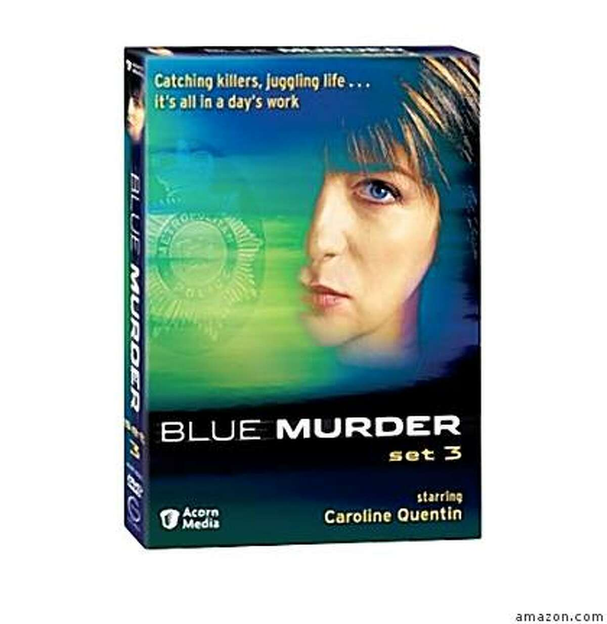 dvd cover: BLUE MURDER: SET 3