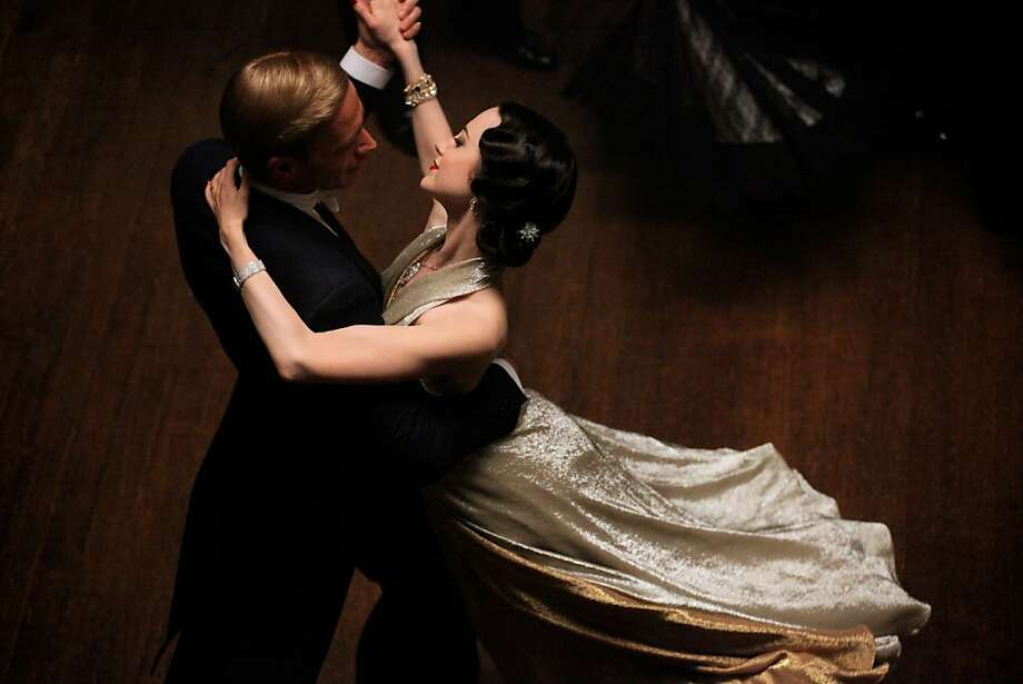 (L-R) JAMES D'ARCY and ANDREA RISEBOROUGH star in W.E. Photo: Anthony Souza, The Weinstein Co.