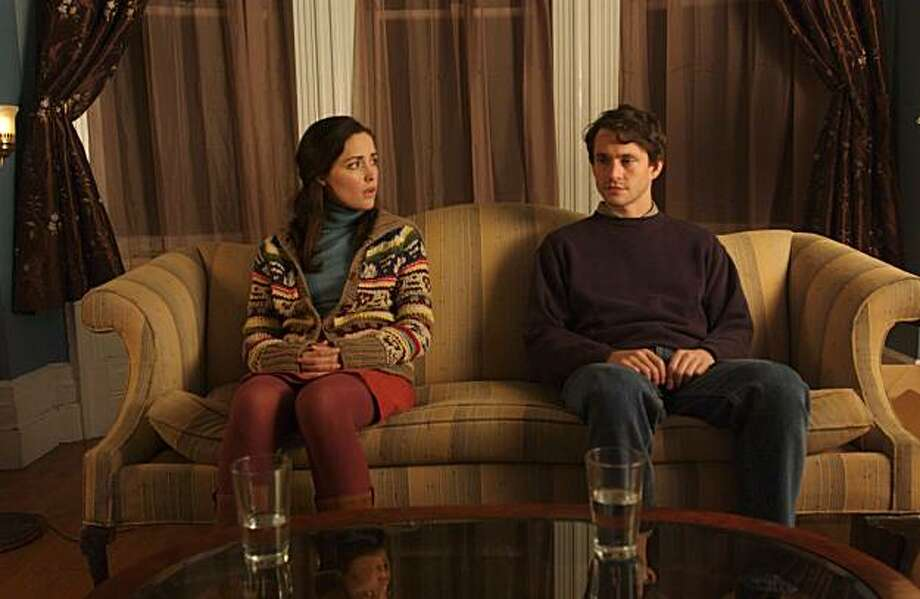 "Hugh Dancy and Rose Byrne star in ""Adam."" Scene 47 Adam and Beth in Adam's livingroom Photo: Julia Griner, Serenade Films"