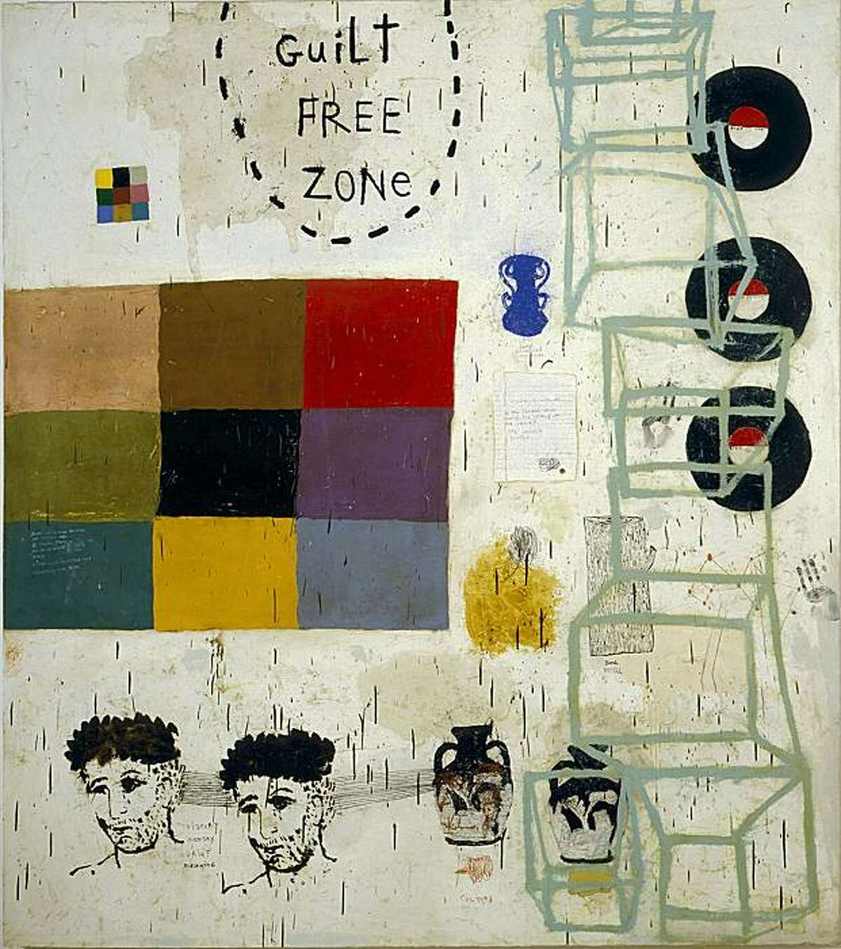 Squeak Carnwath at Bedford Gallery