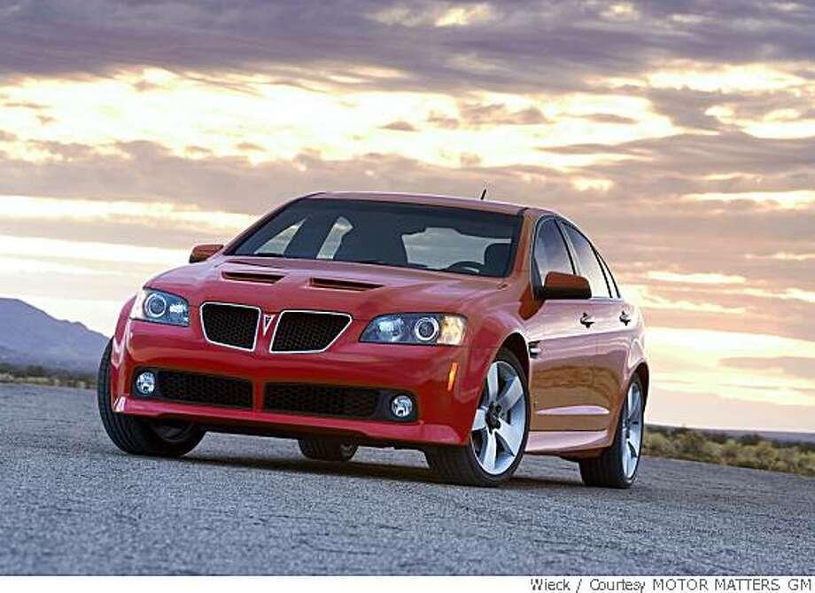 2008 Pontiac G8 Gt Sfgate