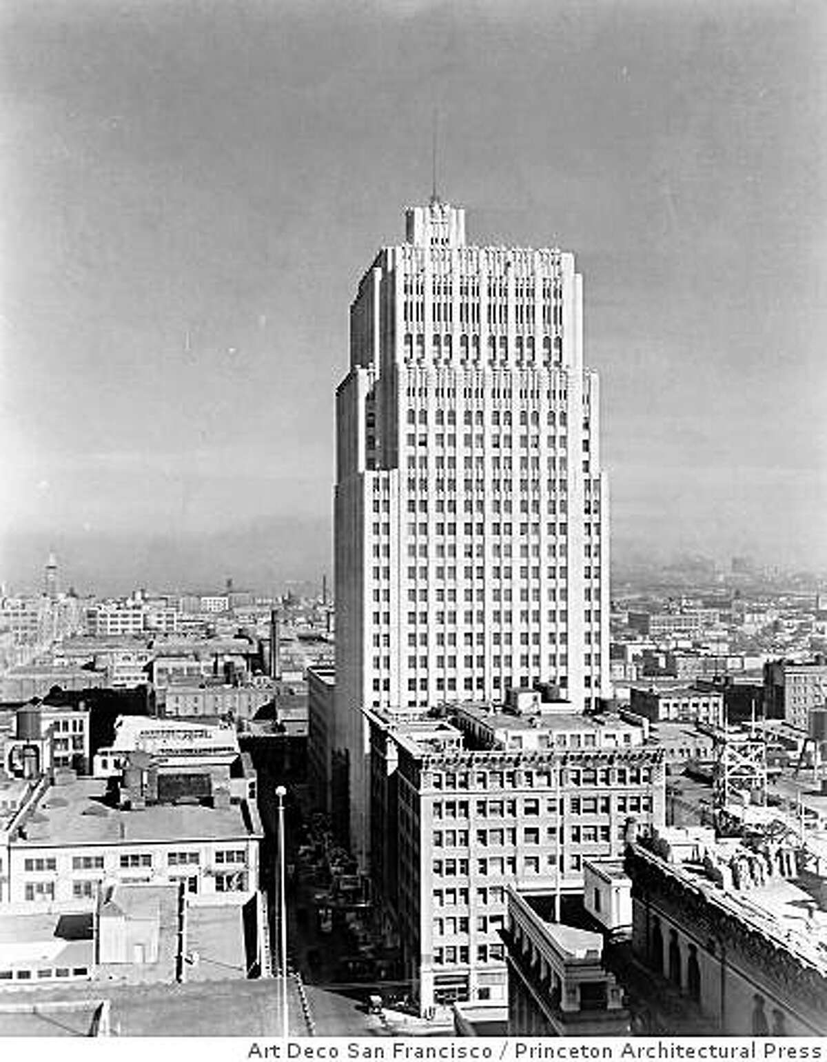 Timothy Pflueger's Pacific Telephone Building was the tallest building in San Francisco when it opened in 1925, and the first tower south of Market Street when it opened. From the new monograph on Pflueger