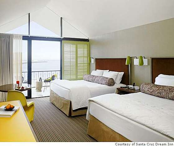 Double room from the Santa Cruz Dream Inn, Santa Cruz, CA Photo: Courtesy Of Santa Cruz Dream Inn