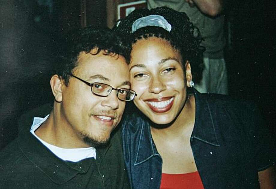 Tatia Oden French with her husband J. B. French after she received her PhD. Tatia died during childbirth, along with her baby. Photo: Liz Mangelsdorf, The Chronicle