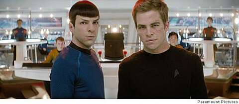 Kirk and Spock are tip of the bromance iceberg - SFGate
