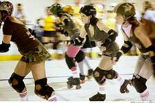 Catch the San Francisco Shevil Dead team at the Bay Area Derby Girls? roller derby bout  Saturday at Herbst Pavillion in San Francisco.