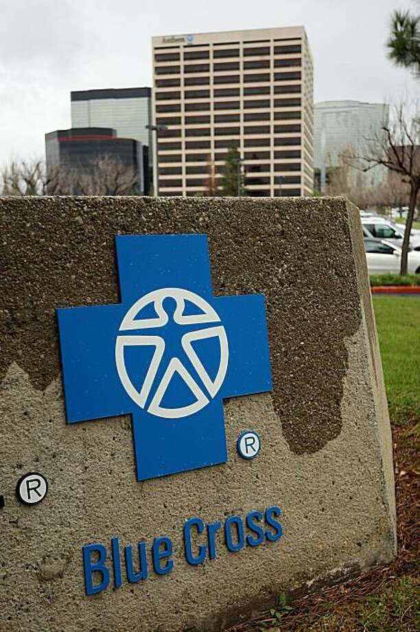 The Anthem Blue Cross headquarters is seen after the health insurer began informing its individual policyholders of rate hikes up to 39 percent to take effect at the beginning of March in Woodland Hills, California. Anthem Blue Cross, which has the highest number of individual customers in California, raised rates by as much as 68 percent in 2009. Health insurance companies in California can legally raise their rates at any time by as much and as they want. Photo: David McNew, Getty Images
