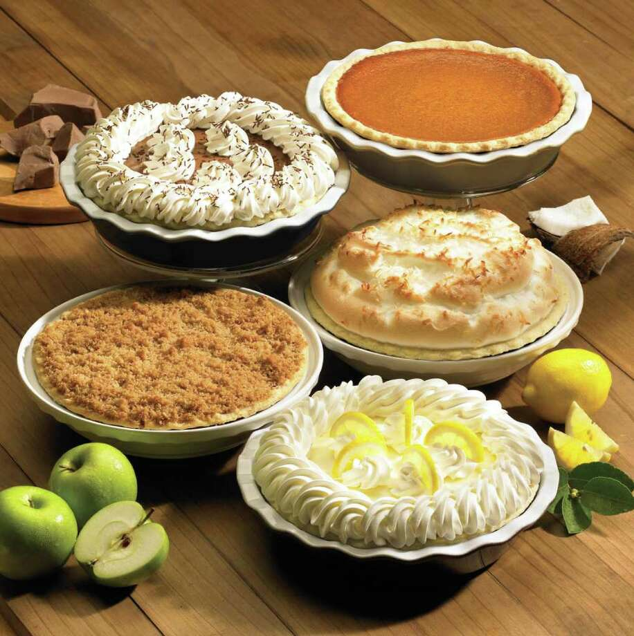Marie Callender's is offering more than 30 varieties of whole pies to go for $7.99 plus the tin. Pie options include apple, banana cream, berry, blueberry, cherry, coconut cream, French apple, lemon meringue, peach and pumpkin.