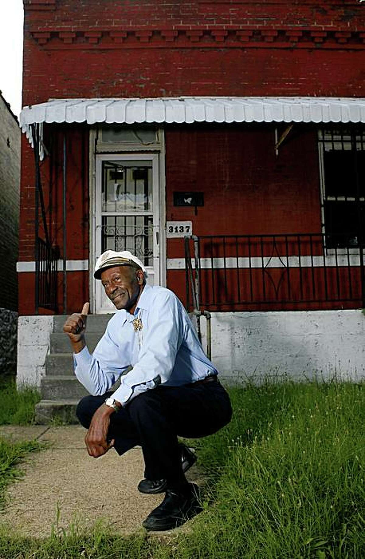 25. St. Louis, $31,275.49. Chuck Berry's house, shown here with Berry, isn't for sale, as far as we know.