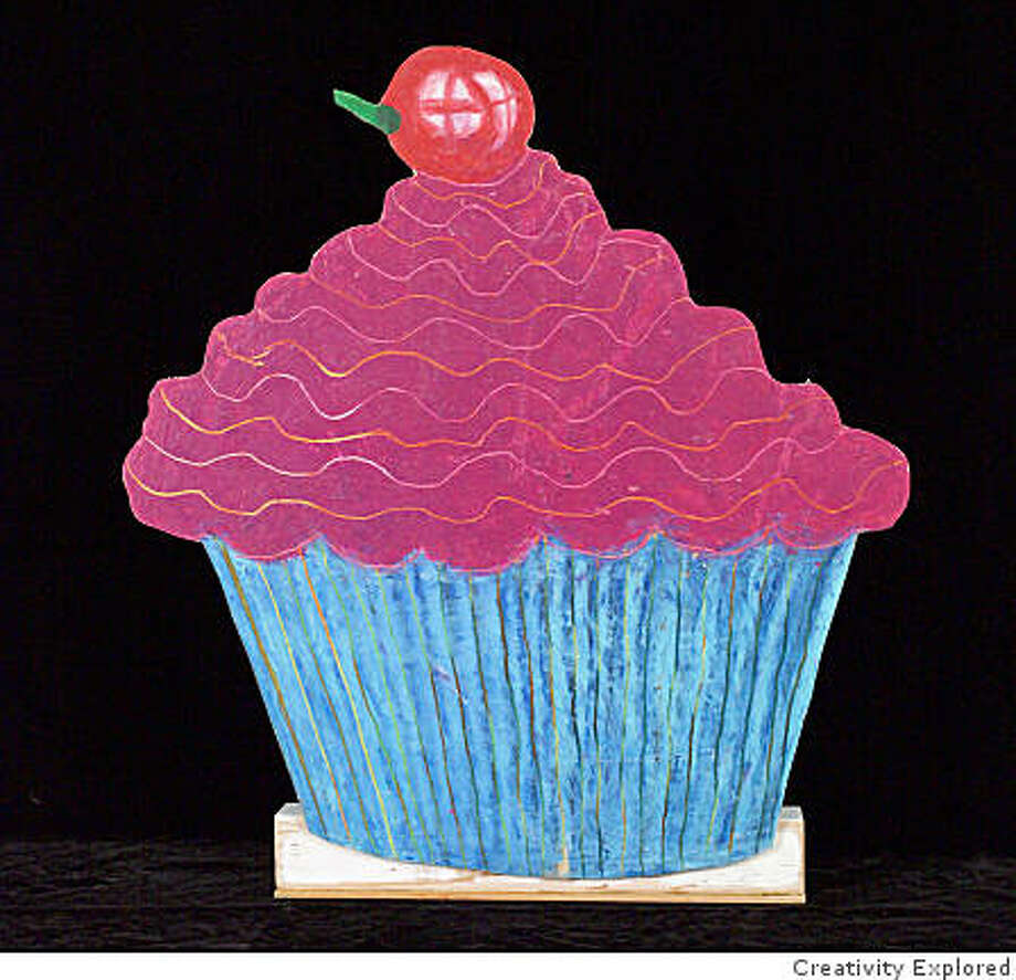 Camille Holvoet's Cupcake Photo: Creativity Explored