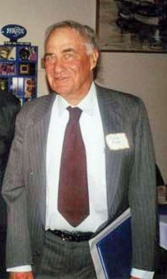 "Norman ""Norm"" Rolfe receiving a lifetime achievement award from San Francisco Tomorrow, an environmental group working to improve the city's environmental quality.  Mr. Rolfe died on January 15, 2010, at age 84. Photo: Courtesy Joseph Rolfe"