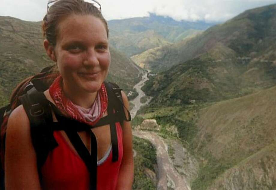 A copy photo of Nina Nilssen when she was known as a world traveler,  Sunday Jan. 24, 2010 in San Francisco, Calif. Nilssen was slain  Tuesday in Antigua, where she was accompanying her sister on a cruise. Photo: Courtesy Iris Weiss