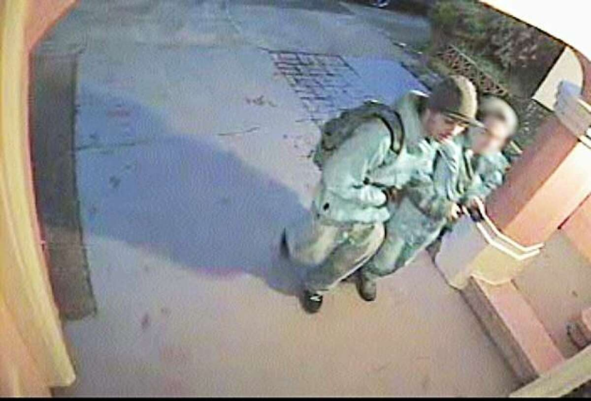 """Suspects in the Jan. 27 killing of Sunset District resident Xiao """"Ben"""" Xiong Luo."""