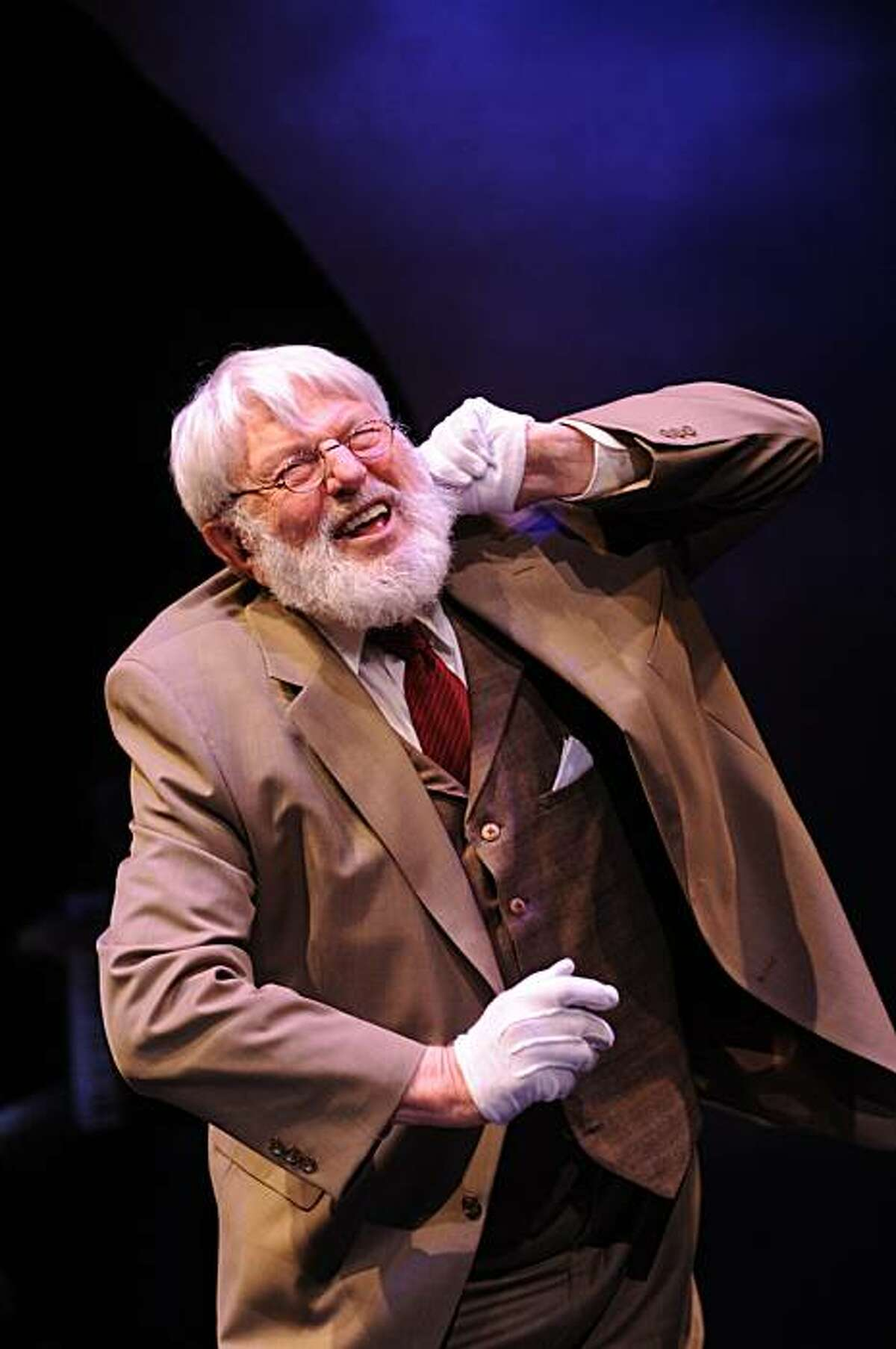 Theodore Bikel in Sholom Alecheim: Laughter Through Tears A life of stories with music and song Photo Credit: Courtesy Theodore Bikel