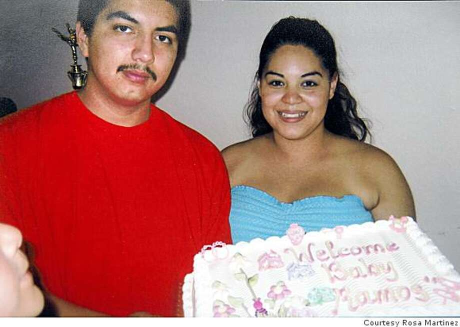 This June, 2007 family photograph shows homicide suspect Edwin Ramos with his wife Amelia at a party.Photo courtesy Rosa Martinez Photo: Courtesy Rosa Martinez