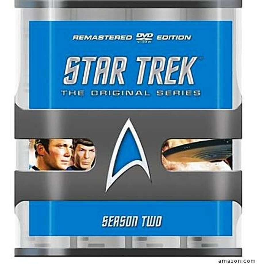 dvd box set: STAR TREK THE ORIGINAL SERIES: SEASON TWO Photo: Amazon.com