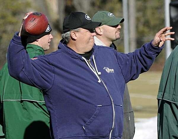 Jets coach's bold talk echoes Broadway Joe - SFGate