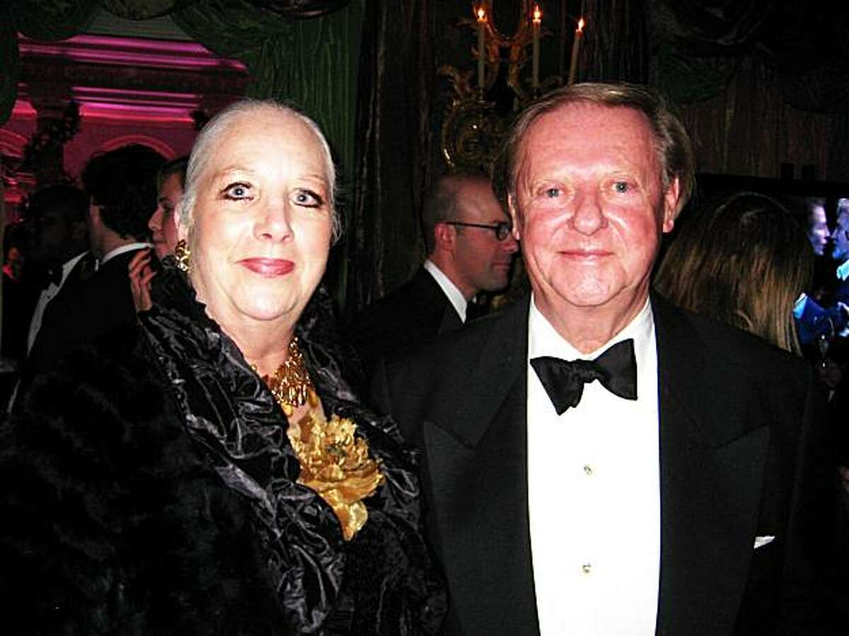 Margot and Harry de Wildt at the Getty Christmas Party_December 2009
