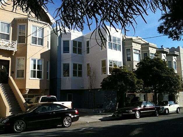 The Diamond Youth Shelter, in San Francisco's NoPA neighborhood, is a homeless shelter for teens that fits with the traditional homes. It opened in January of 2010 and holds up to 20 youths per night. Photo: Sam Davis, Courtesy Photo
