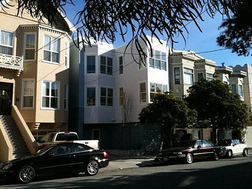 The Diamond Youth Shelter, in San Francisco's NoPA neighborhood, is a homeless shelter for teens that fits with the traditional homes. It opened in January of 2010 and holds up to 20 youths per night.