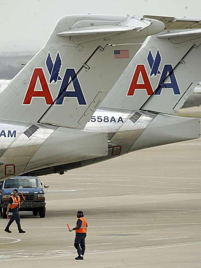 American Airlines, the nation's biggest carrier, had the worst on-time rate, at 58.8 percent. 19 carriers reported an average on-time arrival rate of 70.8 percent in June,  down from May 2008's 79 percent. Weather was a big culprit, with big hub airports such as Dallas-Fort Worth International subject to thunderstorms. Photo: LM Otero, AP