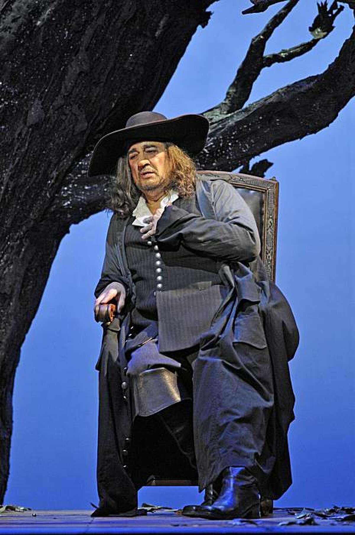 "Placido Domingo will play ""Cyrano"" at San Francisco Opera"