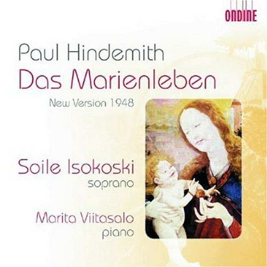 cd cover Hindemith's Das Marienleben Photo: Amazon.com