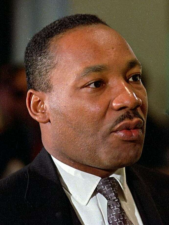 ** FILE ** In this Oct. 24, 1966 file photo, civil rights leader Dr. Martin Luther King Jr., is shown in Atlanta. (AP Photo/file) Photo: AP