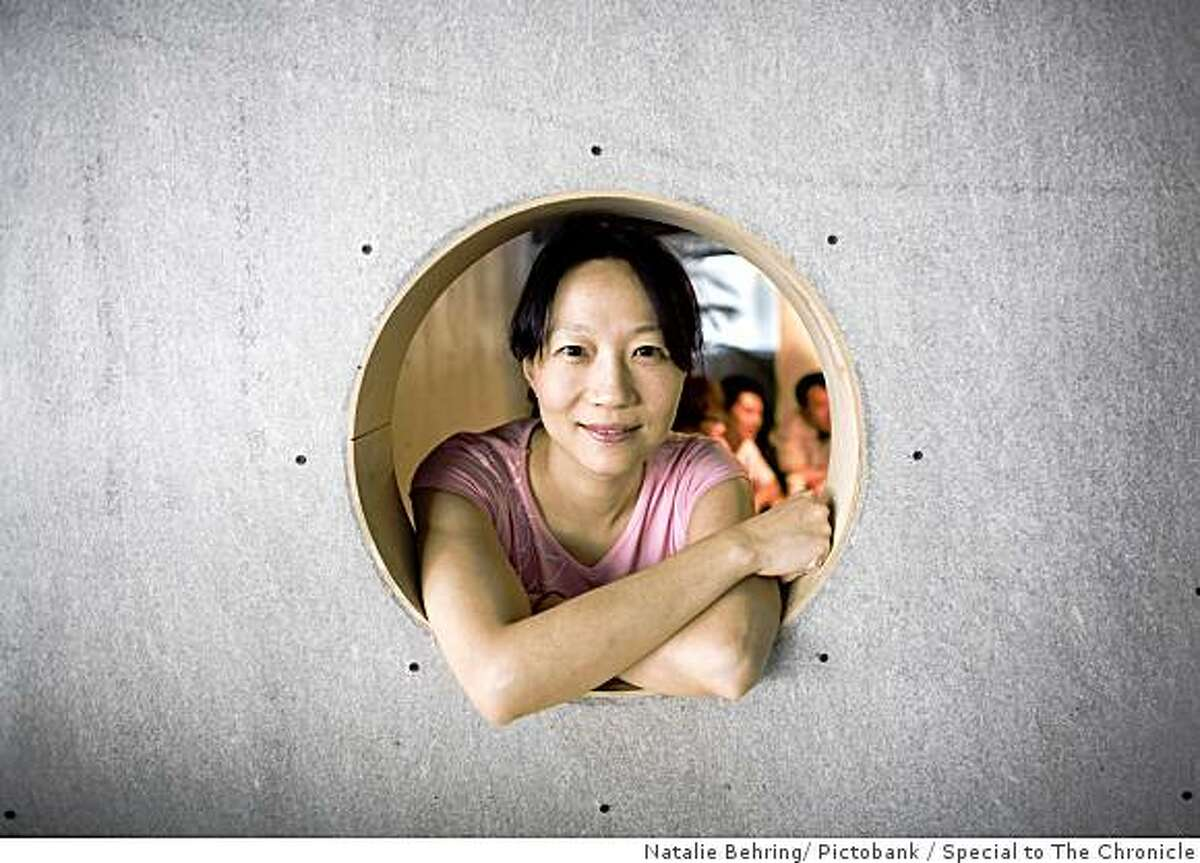 Claire Xie, COO of Zhanzuo.com in her Beijing office. Photo by Natalie Behring / Pictobank / Special to The Chronicle