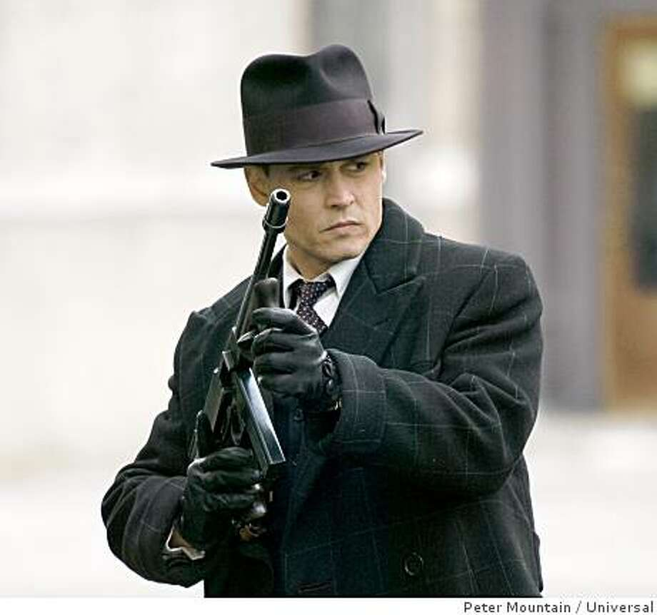 "Johnny Depp in ""Public Enemies."" Photo: Peter Mountain, Universal"