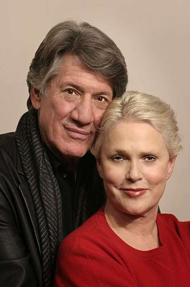 Sharon Gless and Stephen Macht (l to r) star in A Round-Heeled Woman. Photo: Mark Leialoha