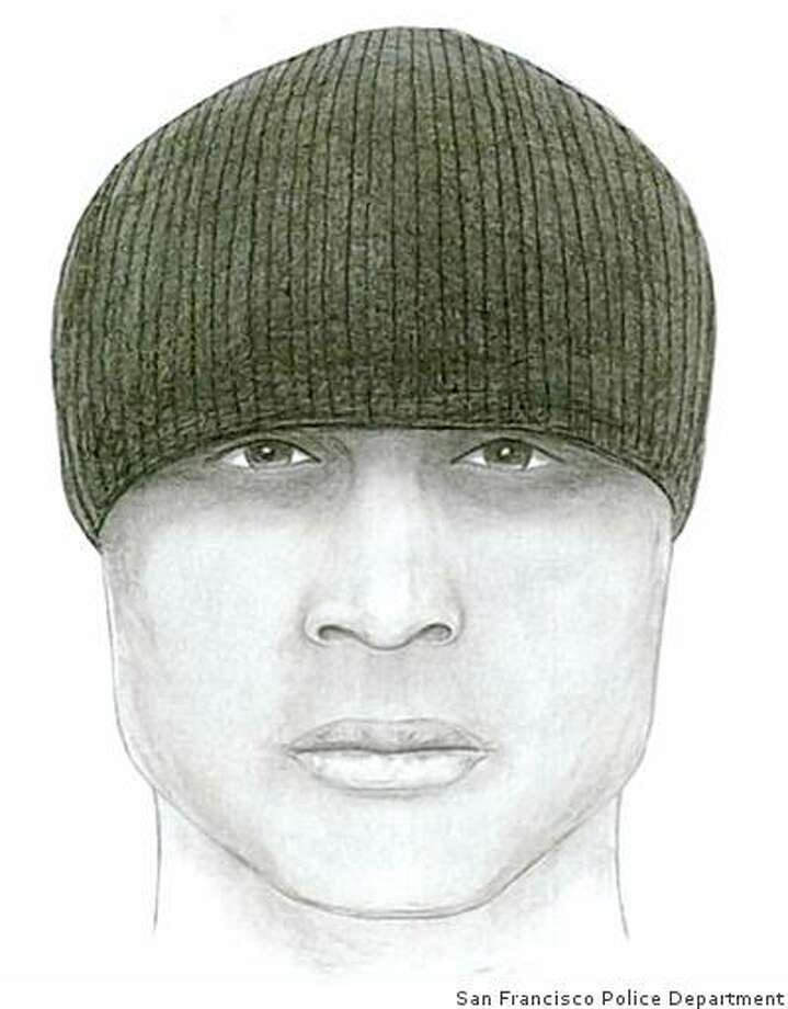 San Francisco Police released this composite sketch of the suspect in the killing of Daniel Dennard. Dennard, 23 of Antioch, was shot around 7:20 p.m. on July 9, 2008 while he was at a stoplight at Bayshore Boulevard and Industrial Street, near the intersection of Highway 101 and Interstate 280. Courtesy of the San Francisco Police Department Photo: San Francisco Police Department