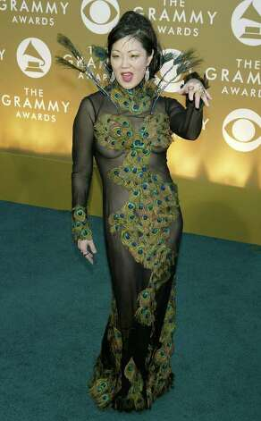 Margaret Cho, pretty as a peacock in 2004. Photo: Kevin Winter, Getty Images / 2004 Getty Images