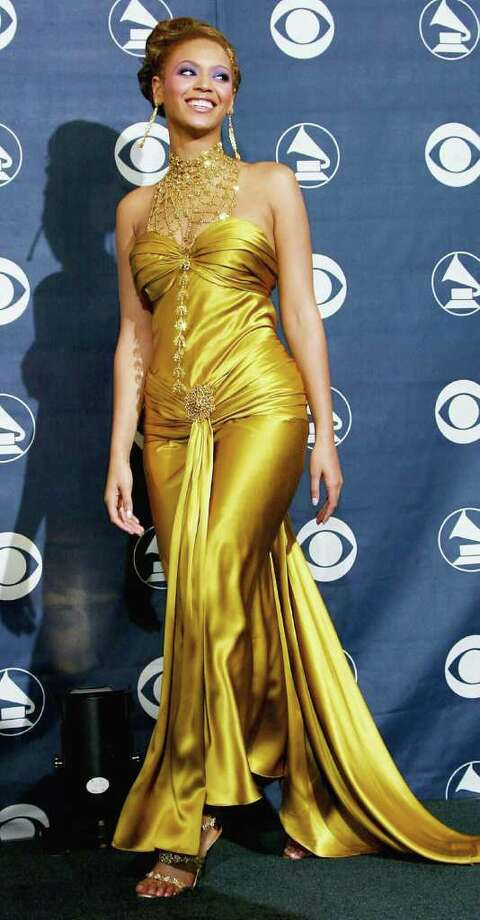 A rare chartreuse misstep for Beyonce back in 2004.  Photo: Frederick M. Brown, Getty Images / 2004 Getty Images