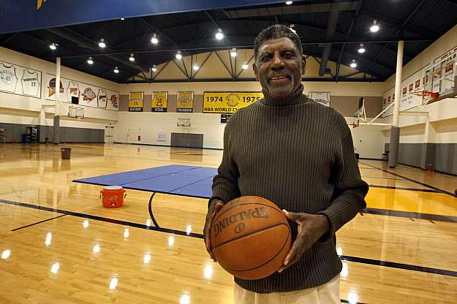 "Al Attles, Warriors executive and coach of their '75 championship team, at Warrior's headquarters in Oakland, Calif., on Tuesday, October 13, 2009.  Attles went to Weequahic HS inNewark, NJ, and is featured in a documentary about the school, ""HEART OF STONE, "" which opens Oct. 30 at the Roxie Theater. Photo: Liz Hafalia, The Chronicle"