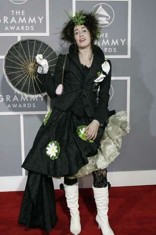 Quirky singer Imogen Heap didn't disappoint in 2007. Photo: HECTOR MATA, AFP/Getty Images / 2007 AFP