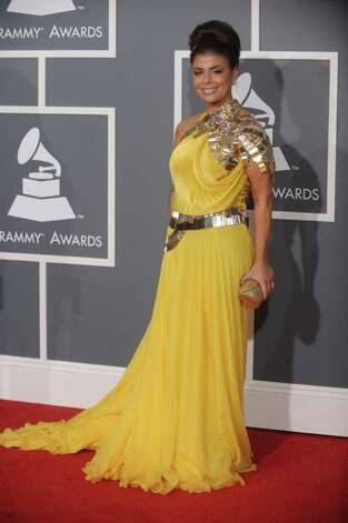 Paula Abdul rarely makes the best dressed list, but her 2009 gown was particularly offensive.  Photo: GABRIEL BOUYS, AFP/Getty Images / 2009 AFP