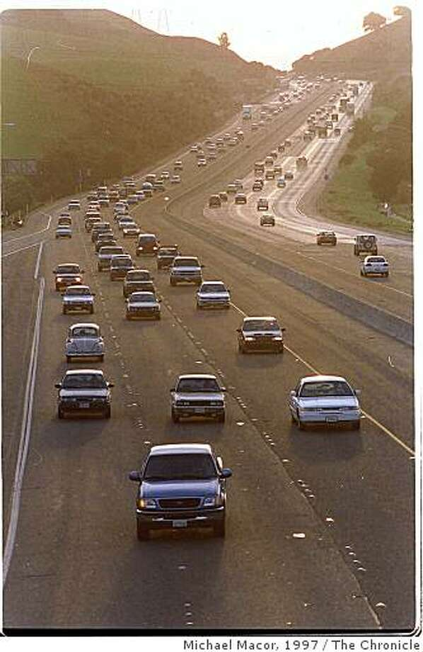 Sunol GradeThe Sunol Grade on I-680 would be one of the first trial locations for the toll system. Ran on: 07-24-2008 The Sunol Grade on I-680 would be one of the first trial locations for the toll system. Photo: Michael Macor, 1997, The Chronicle