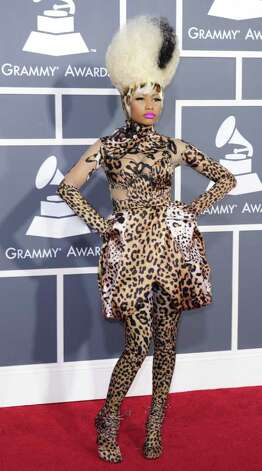 "Nicki Minaj took ""fierce"" to a new level in 2011.  Photo: ROBYN BECK, AFP/Getty Images / 2011 AFP"