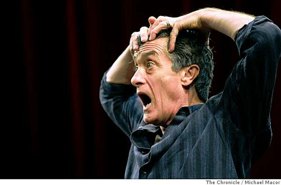 A star of British and Broadway theater, Roger Rees is opening a one man show at the ACT theater in San Francisco,Calif., running through dress rehearsals on Friday July 17, 2008. Photo: Michael Macor, The Chronicle