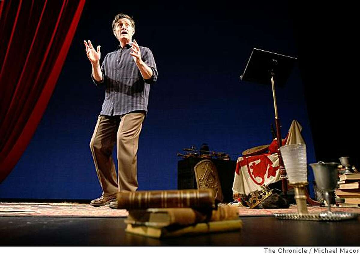 A star of British and Broadway theater, Roger Rees is opening a one man show at the ACT theater.