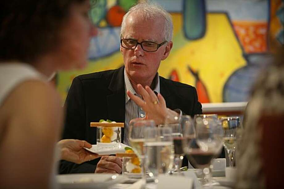 San Francisco Ballet's artistic director Helgi Tomasson attended the tasting luncheon for the Ballet Gala for the first time since taking over the ballet 25-years ago. The luncheon was held at McCall Associates in San Francisco on Tuesday, Dec. 1, 2009. Photo: Russell Yip, The Chronicle