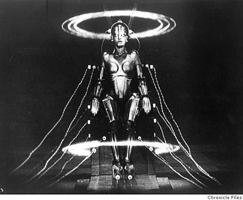 Brigette Helm as the robot in Fritz Lang's Metropolis. Photo: Chronicle Files